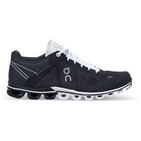 On Cloudflow Shoes Dam black-white